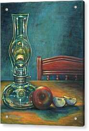 Still Life With Apples Acrylic Print by Colleen  Maas-Pastore
