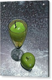 Still Life With Apples Acrylic Print by Karyn Robinson