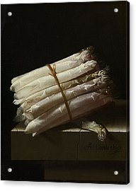Still Life With Asparagus, 1697 Acrylic Print