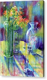 Still Life With Color Acrylic Print