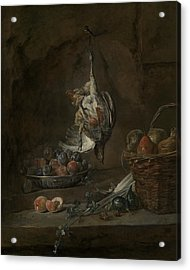 Still Life With Dead Pheasant Acrylic Print