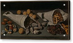 Still Life With Dried Fruit Acrylic Print