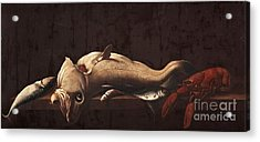 Still Life With Fish And Lobster Acrylic Print