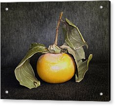 Still Life With Persimmon Acrylic Print