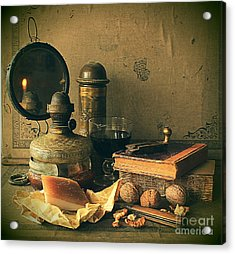 Still Life With Pork Fat Acrylic Print