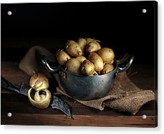 Still Life With Potatoes Acrylic Print