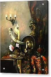 Still-life With The Dojra Acrylic Print