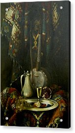 Still-life With The Kamancha Acrylic Print