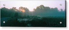 Still Mist Acrylic Print by Tom Hefko