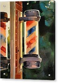 Still On Duty Acrylic Print by Spencer Meagher