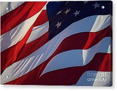 Still Our Flag. Acrylic Print
