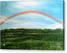 Still Searching For Somewhere Over The Rainbow? Acrylic Print by Kimberlee Baxter