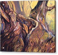 Still Standing Acrylic Print by Peggy Wilson