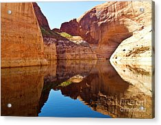 Still Waters Acrylic Print by Kathy McClure