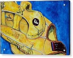 Stillmans Nylon Glove Acrylic Print by Jame Hayes