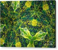 Stillness Acrylic Print by Denise Nickey