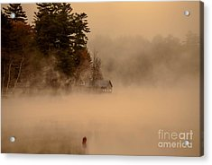 Stillness Of Autumn Acrylic Print by Sherman Perry