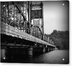 Stillwater Bridge  Acrylic Print by Perry Webster