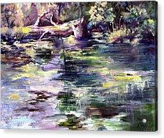 Stillwater Acrylic Print
