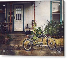 Acrylic Print featuring the photograph Sting Ray Bicycle by Craig J Satterlee