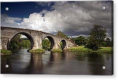 Stirling Bridge Acrylic Print by Grant Glendinning