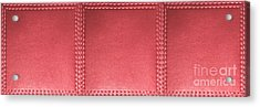 Stitched Leather Look Download Jpg Files For Personal Commercial Project Royality Free Licensing Acrylic Print
