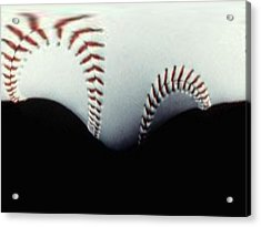 Stitches Of The Game Acrylic Print by Tim Allen