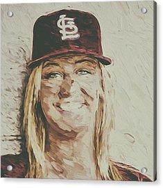 #stlouis #stlouiscardinals #cardinals Acrylic Print