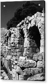 Stoa Of Eumenes Athens Acrylic Print by Susan Chandler
