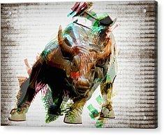Stock Bull Digital Acrylic Print