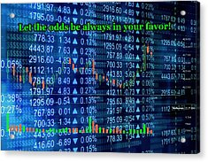 Stock Exchange Acrylic Print