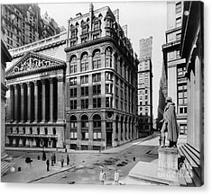 Stock Exchange, C1908 Acrylic Print by Granger