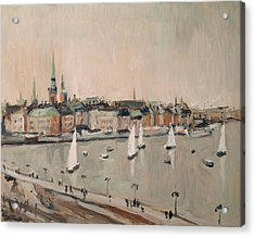 Stockholm Regatta Acrylic Print