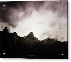 Acrylic Print featuring the photograph Stockhorn by Mimulux patricia no No
