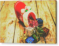 Stocking Up For Christmas Acrylic Print by Jorgo Photography - Wall Art Gallery