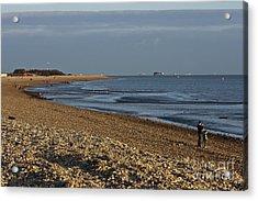 Stokes Bay England Acrylic Print
