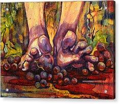 Stomp Acrylic Print by Peggy Wilson