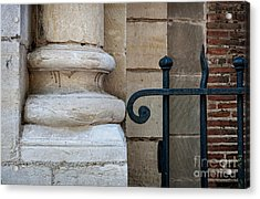 Stone And Metal Acrylic Print