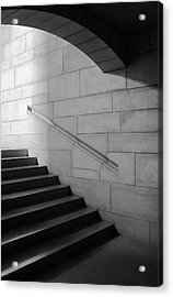 Stone And Steps Acrylic Print by Donald Schwartz