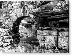 Stone Arch Acrylic Print by Wade Courtney