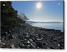 Stone Beach Acrylic Print