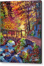 Stone Bridge At Royal Gardens Acrylic Print