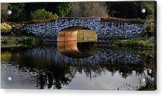 Stone Bridge At Solivita Acrylic Print by Lyle  Huisken