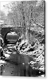 Stone-bridge Acrylic Print
