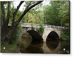 Acrylic Print featuring the photograph Stone Bridge by Lois Lepisto