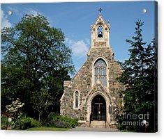 Stone Chapel Acrylic Print