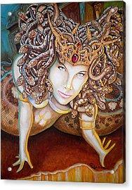 Stone Cold Beauty Acrylic Print by Al  Molina