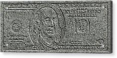 Stone Dollar Acrylic Print