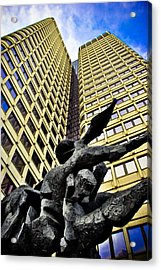 Stone Forms Acrylic Print by Andrew Kubica
