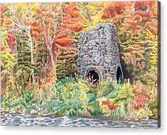 Stone Furnace Acrylic Print